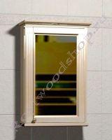 """Зеркальный шкаф для ванной комнаты с подсветкой """"Челси-1 АЛЕКС-60R береза"""""""