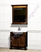 """Мебель для ванной из дерева """"Челси-1 АЛЕКС-80 орех"""""""