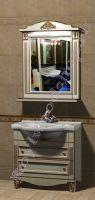 """Мебель для ванной комнаты Прованс """"Руссильон PROVENCE-85 светлое дерево"""""""