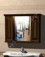 """Зеркальный шкаф для ванной комнаты """"Челси-2 УОРВИК-100 орех"""""""