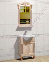"""Мебель для ванной из массива дерева """"Глазго Эндрю-55 береза"""""""