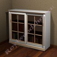 "Книжный шкаф ""Лондон СИТИ-С белый"""