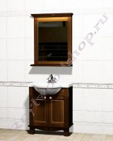 """Мебель для ванных из дерева """"Челси-1 АЛЕКС-75 орех"""""""