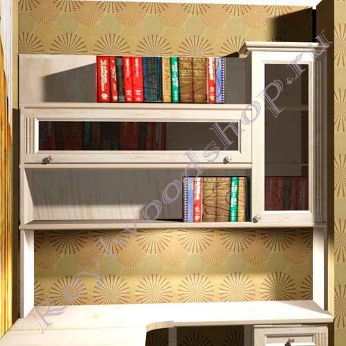 Надстройка и шкафчики для письменного стола.