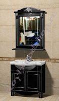 "Мебель Прованс для ванных ""Руссильон PROVENCE-75 черное дерево"" фото"