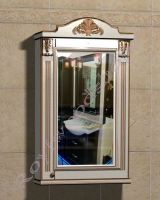 """Подвесной шкаф в ванную """"Руссильон PROVENCE-55R светлое дерево"""" (правое открывание)"""