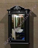 "Зеркало-шкаф  ""Руссильон PROVENCE-60 черное дерево"""