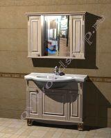 """Мебель для ванной """"Челси-2 УОРВИК-100 береза"""""""